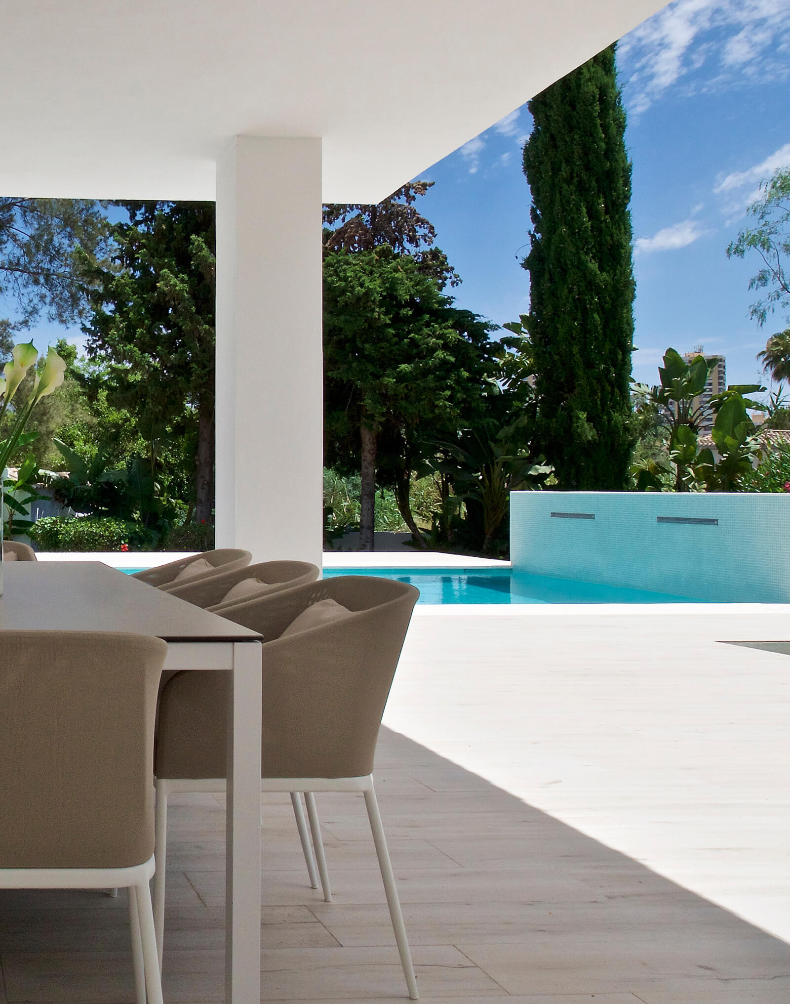Country Lifestyle Villa pool terrace