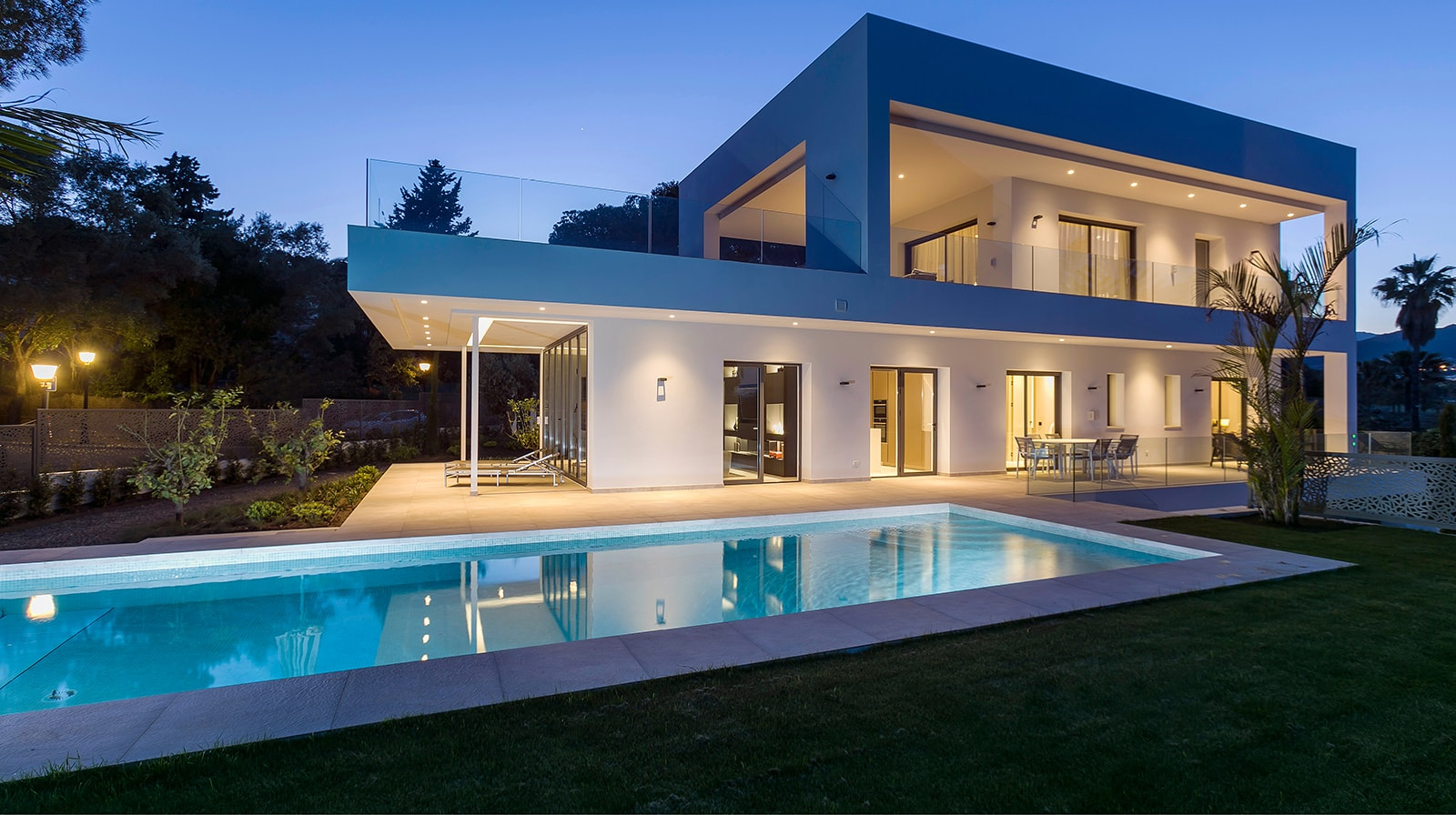 Luxurious New Build Villa exterior side