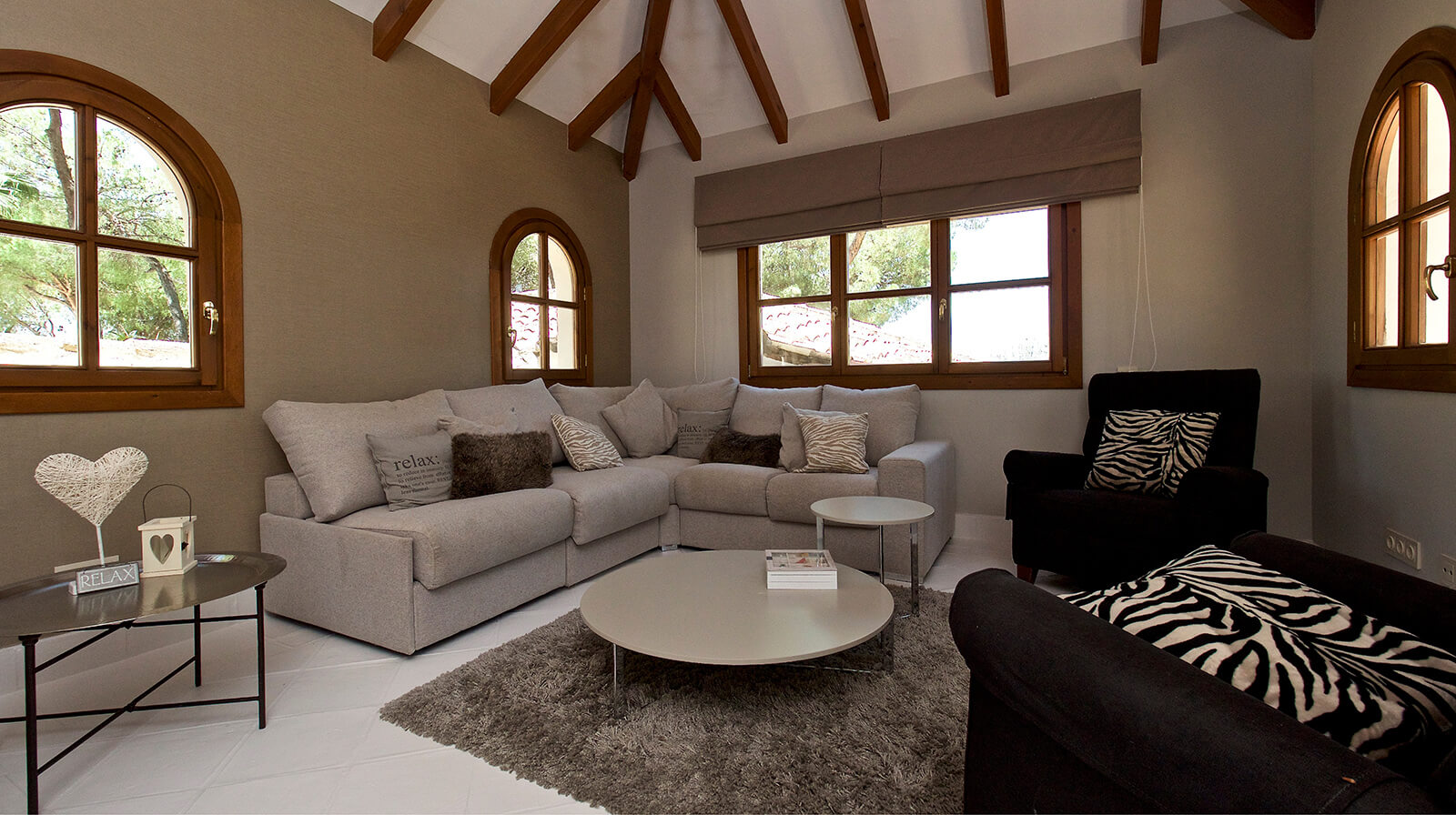 Authentic Andalucian Villa living room sofa