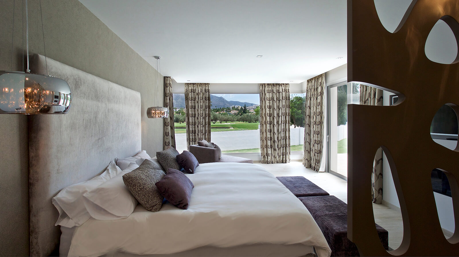 Country Lifestyle Villa bedroom view