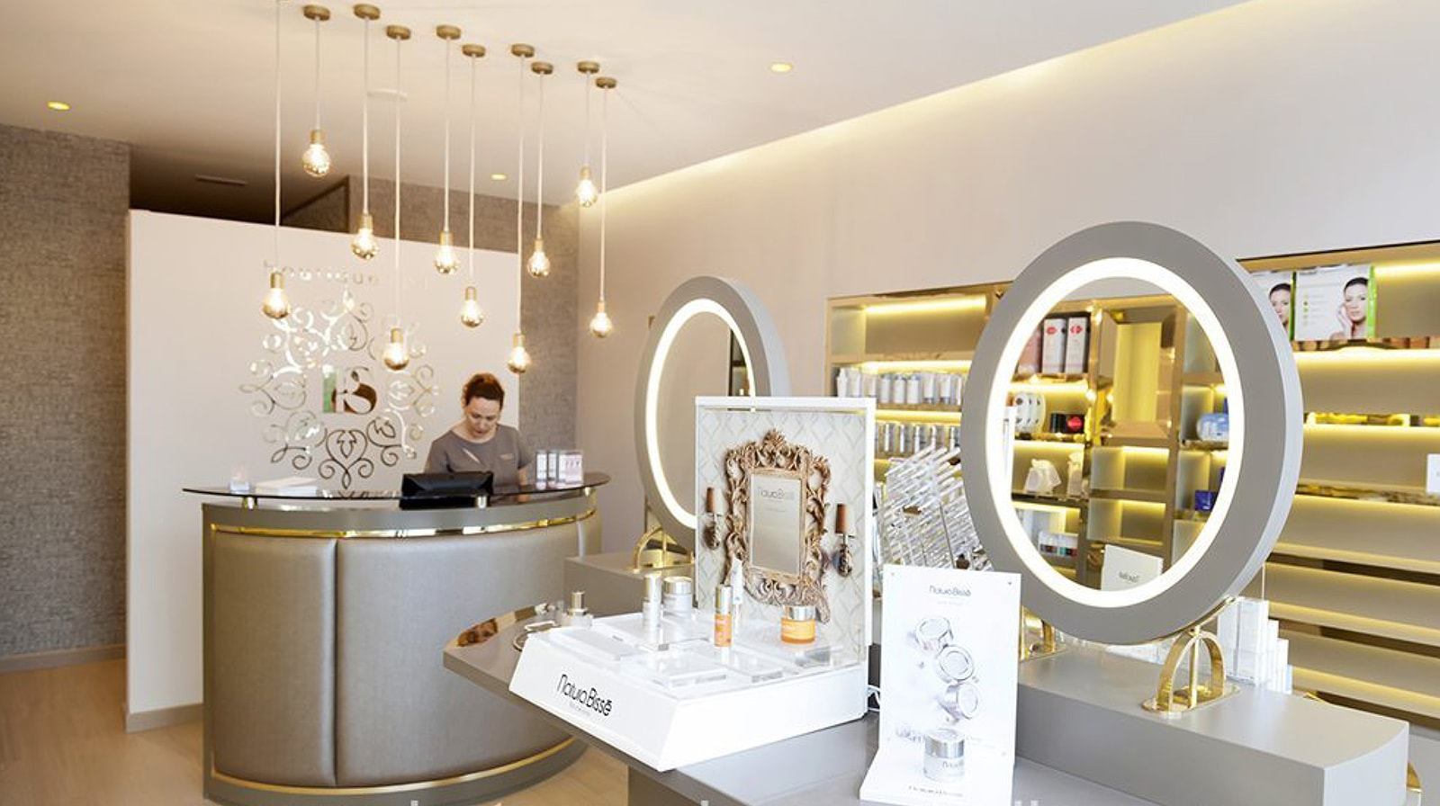 Pure Skin Boutique & Spa interior reception