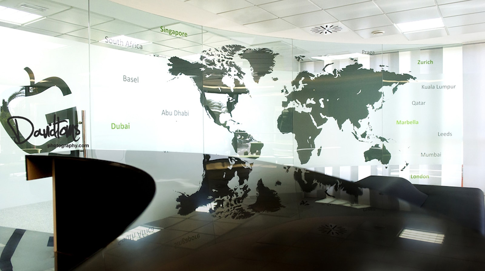 Gravity Global Offices world map
