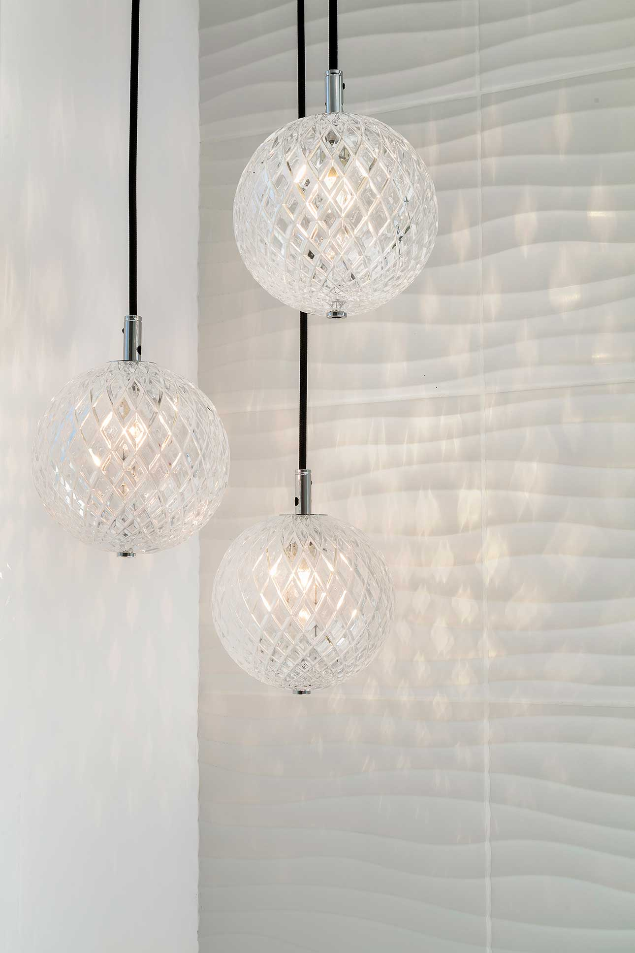 Contemporary Family Villa Bathroom Lights